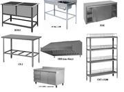 Профессиональное кухонное оборудование из нержавеющей стали
