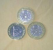 Продам в Актау! Редкие монеты 100 тенге. 2007 года.
