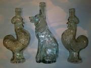 форменные,  старые бутылки.