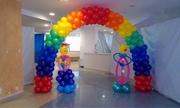 Оформление шарами в Актау. Агентство детских праздников