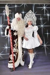 Дед Мороз и Снегурочка в Актау